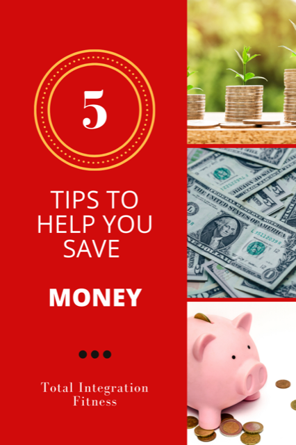 5 ways to save